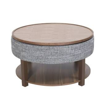 Amstel Floor Shelf Coffee Table With Storage Coffee Table With