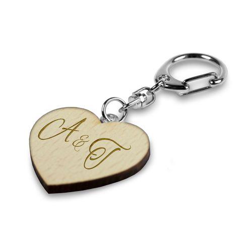 Herz Schlüsselanhänger Edelstahl graviert ❤ Gravur ❤ Valentinstag ❤ Muttertag