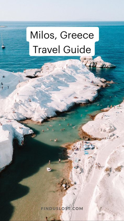 Milos, Greece  Travel Guide