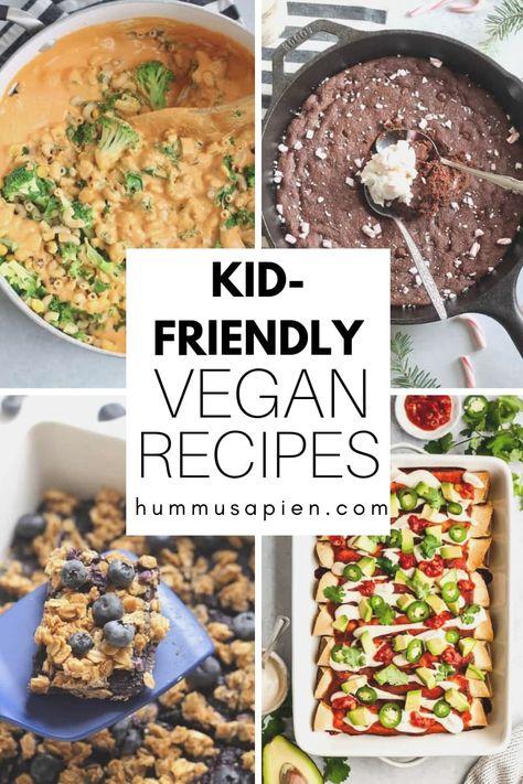 25 Kid Friendly Vegan Recipes Vegan Recipes Delicious