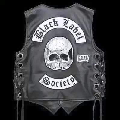Pin By William Black On Zakk Wylde Black Label Society Black Label Society Black Label Leather Vest