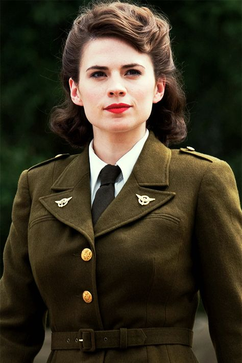 """""""Gentlemen, I'm Agent Carter. I supervise all operations of this division."""" - Peggy Carter in Captain America"""