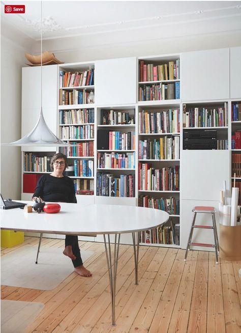 Arbeitszimmer ikea expedit  Best of BESTA: Inspiration for IKEA's Most Versatile Unit | Design ...