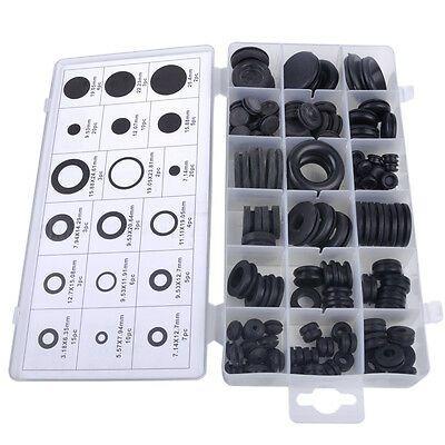 Sponsored Ebay 125x Rubber Grommet Assortment Firewall Hole Plug Electrical Wire Gasket Kit In 2020 Rubber Grommets Electricity Electrical Wiring