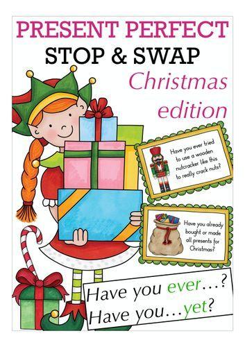 Christmas Stop Swap Unterrichtsmaterial In Den Fachern Englisch Fachubergreifendes Unterrichtsmaterial Englischunterricht Unterrichten