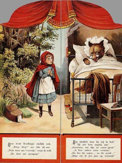 Nieuw Roodkapje op rijm voor sprookjesproject in kinderboekenweek 2014 FJ-47