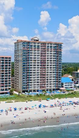 Paradise Resort Myrtle Beach Away From Alot Of Poted Areas