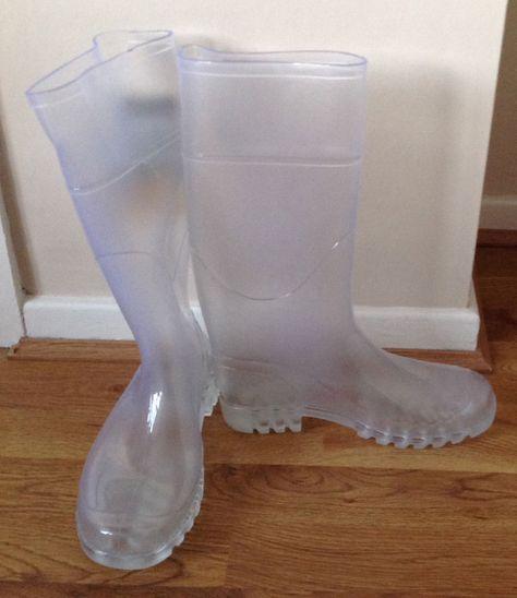 Wellington boot, Boots, Clear rain boots