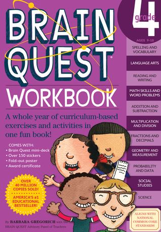 PDF DOWNLOAD] Brain Quest Workbook: Grade 4 by Barbara