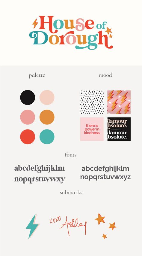 Colorful Branding | House Of Dorough