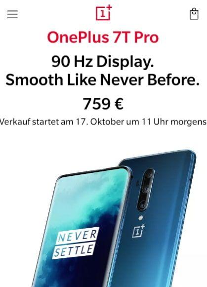 Oneplus 7t Pro Kaufen Mit Vertrag Stand Juli 2020 Handyvertrag Vertrag Wolle Kaufen