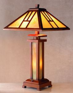 Prairie table lamp plans woodworking plans and projects craftsman style table lamp plans google search aloadofball