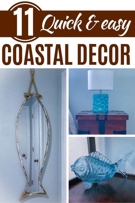 14 Beach Inspired Diy Coastal Home Decorating Ideas Coastal