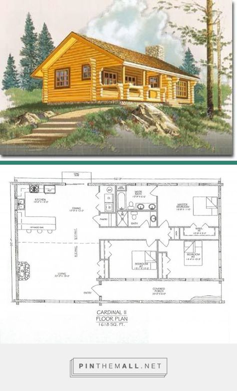This log home is our Cardinal II. This cabin has 3 bedrooms 2 bathrooms and 1618 square feet. This log home is our Cardinal II. This cabin has 3 bedrooms 2 bathrooms and 1618 square feet. […] Homes For Families garage