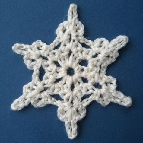 Attic24: Crochet Snowflake