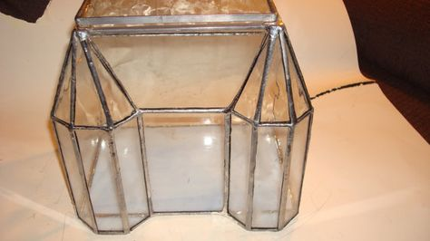 Glass House Terrarium Victorian House Stained by MagicWithMetal, $85.00