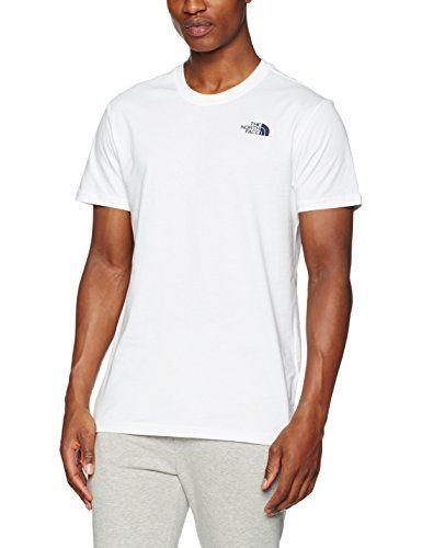 magasin en ligne f77db 7c57a The North Face T92ZXESFT. M T-Shirt Homme TNF Wh/Ur Navy FR ...