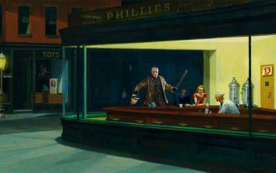 Happy Friday The 13th By Brandtk Edward Hopper Edward Hopper Paintings Nighthawks