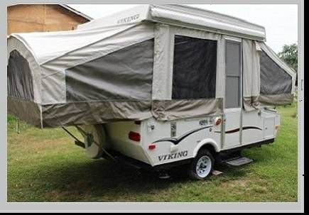 Viking Pop Up Tent Camper Travel Trailer 1100 Tent Campers