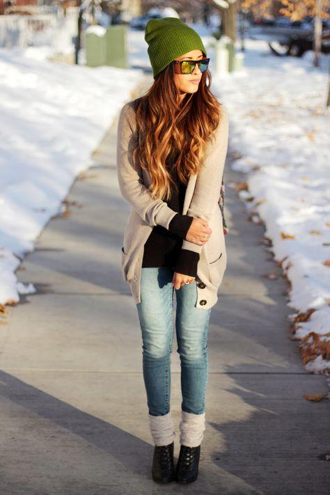 Winter Outfit #escherpe