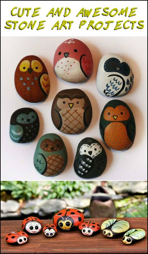 It's amazing what you can do with a bit of imagination and a few stones... Feeling inspired?