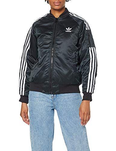 adidas Damen Originals Bomberjacke Black 36   Adidas damen ...