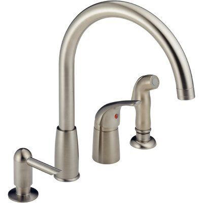 peerless faucets single handle kitchen