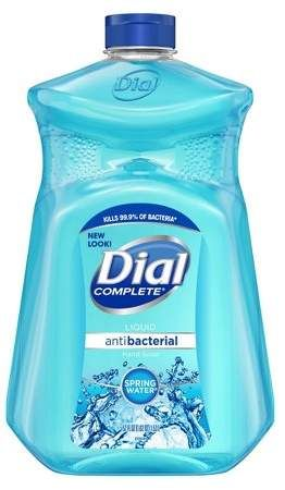 Dial Spring Water Refill Liquid Hand Soap Gel 52oz Liquid Hand