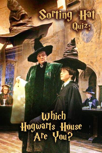 Sorting Hat Quiz Which Hogwarts House Are You Harry Potter Quiz Harry Potter Sorting Hat Quiz Harry Potter House Sorting