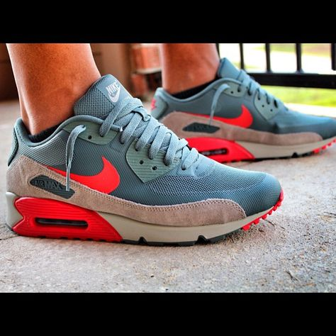 Nike Air Max 90 Hyperfuse StealthTotal Orange | Complex