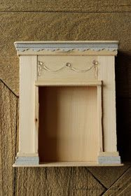 Dollhouse 1 12 Fireplace Mantel Tutorial Cottage Style Diy