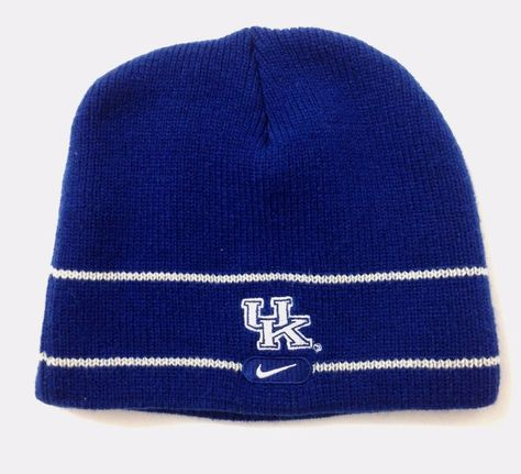 Nike KENTUCKY WILDCATS BEANIE Dark Blue Winter Knit Ski Skull Hat Men Women  UK  Nike  KentuckyWildcats aaff05401c3