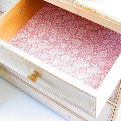 The Master Herbalist William Morris Pink Rose Scented Drawer Liners England Fashion Home Garden Hom Scented Drawer Liner Drawer Liner Rose Scented Products