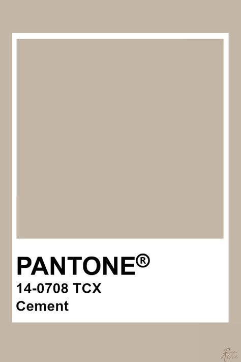 Pantone Cement