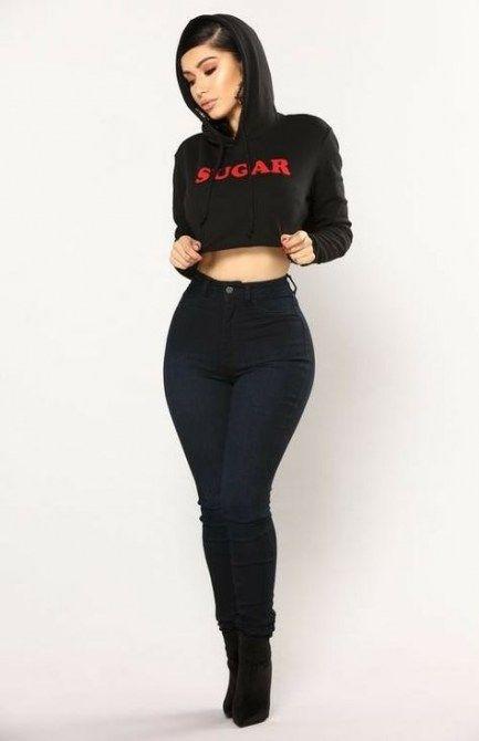 54+ Trendy Fashion Nova Jeans Black fashion in 2020