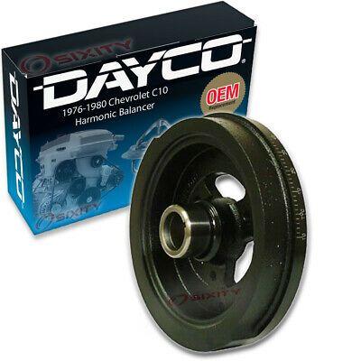 Sponsored Ebay Dayco Harmonic Balancer For 1976 1980 Chevrolet C10 6 6l V8 Engine Ds In 2020 Dayco Chevrolet V8 Engine