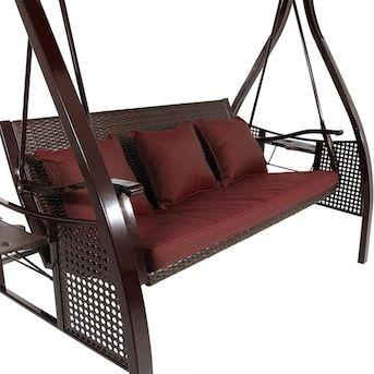 patio swing canopy porch swing
