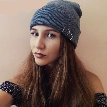 Love Africa Women and Men Knitted Hat Soft Pure Color Hat