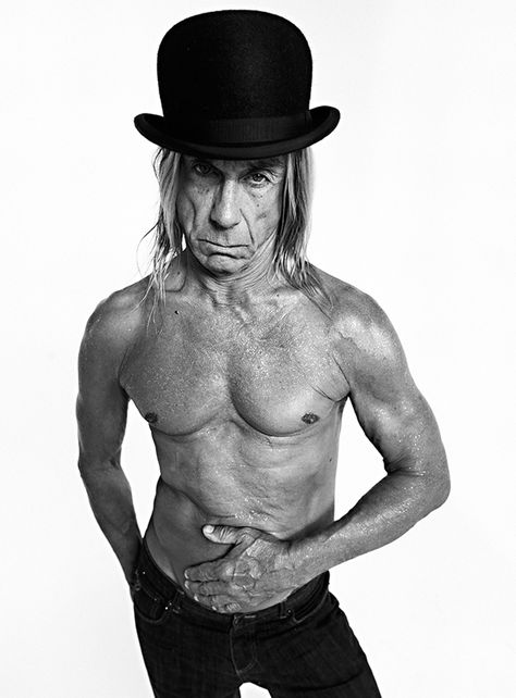 Iggy Pop by Jad Oakes