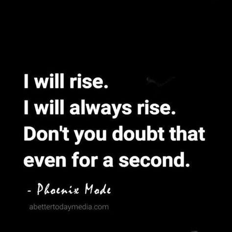 I will rise. I will always rise. Don't you doubt that even for a second. FunctionalRustic.com #functionalrustic #quote #quoteoftheday #motivation #inspiration #quotes #diy #wisdom #lifequotes  #affirmations #rustic #handmade #craft #affirmation #michigan #motivational #repurpose #dailyquotes #crafts #success #sobriety #strongwoman #inspirational  #quotations #success #positivity #inspirationalquotes #decorations #quotations #strongwomenquotes #recovery #achievement #health #kindness #trust