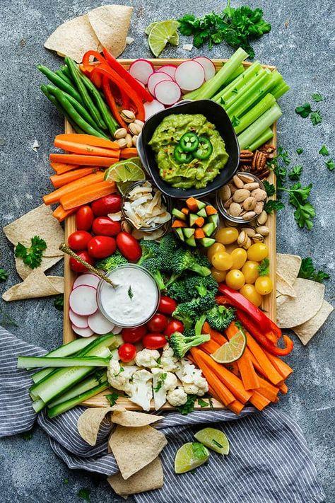 Veggie Platter - How To Make A Healthy Vegetable Platter 4 Ways