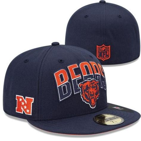 e0804567768 New Era Chicago Bears 2013 NFL Draft 59FIFTY Fitted Hat - Navy ...