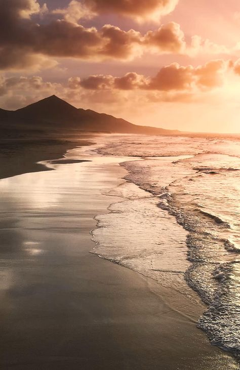 Ocean Waves Sunset Photography