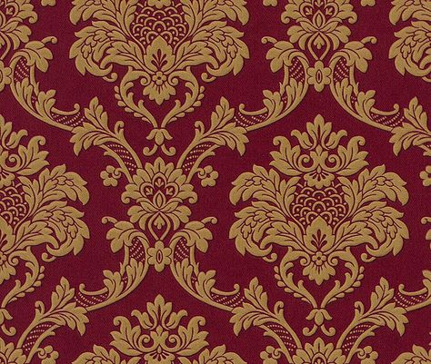Trianon Neo Barock Retro Vinyl Tapete 505368 Rot Gold Tapeten Rasch Trianon 2012 Tapete Rot Viktorianische Tapete Tapeten