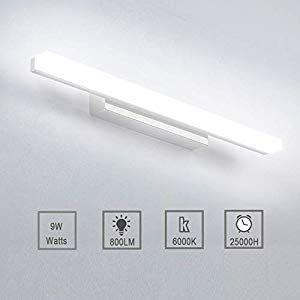 9w Led Spiegelleuchte Badleuchte Badlampe Spiegellampe Kaltweiss
