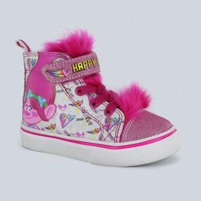 Toddler Girls' Trolls High Top Sneakers