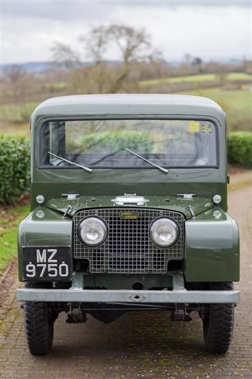 Used 1950 Land Rover Station Wagon by Tickford for sale in Northamptonshire from Silverstone Auctions.