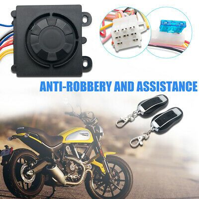 Advertisement Ebay Motorcycle Motorbike Alarm System Immobiliser Security Remote Control Anti Th In 2020 Alarm System Remote Control Motorcycle Parts And Accessories