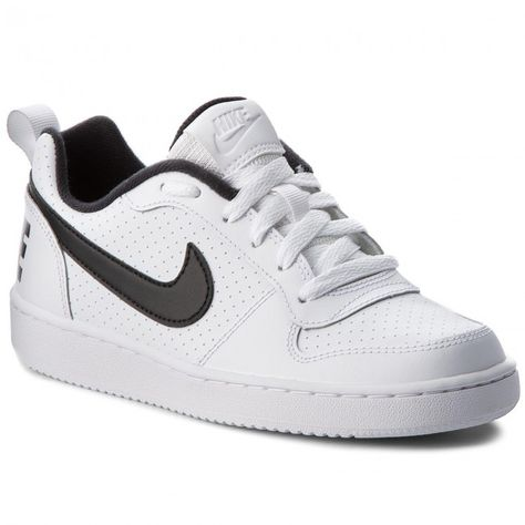 0fefaba20f Cipő NIKE - Court Borough Low (GS) 839985 101 White/Black | egyéb