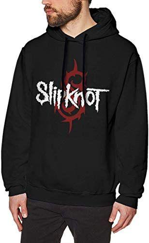 Slipknot Logo Hoodie Men/'s Black